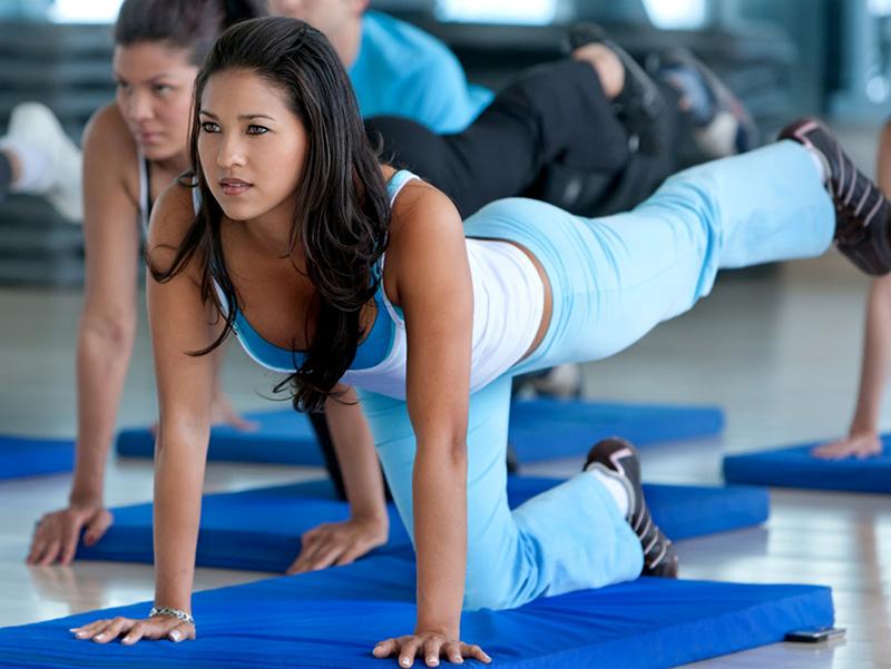 Аэроботические упражнения для похудения