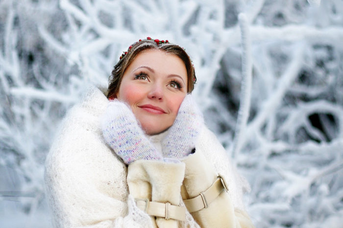 Что одеть в мороз девушке