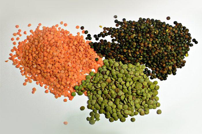 Плоды чечевицы