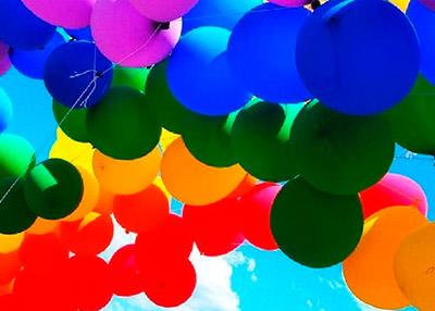 Украшения из воздушных шариков
