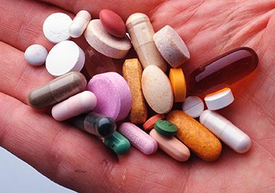 Набор лекарств для гипертоника