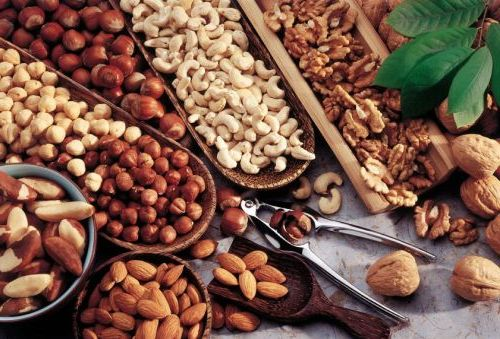 Польза от орехов