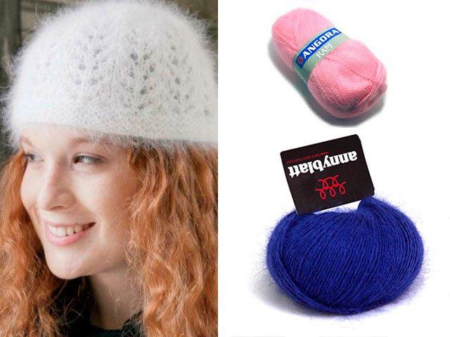 2-Красивая-шапочка-на-зиму-из-ангоры