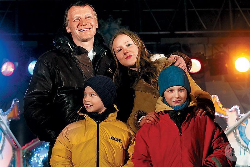 Дети Алексея Серебрякова фото