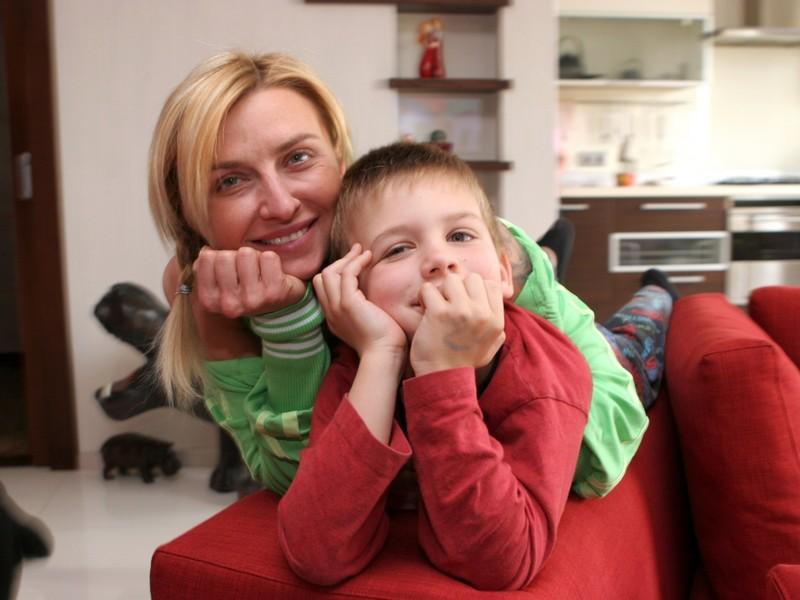 Дети Татьяны Овсиенко фото