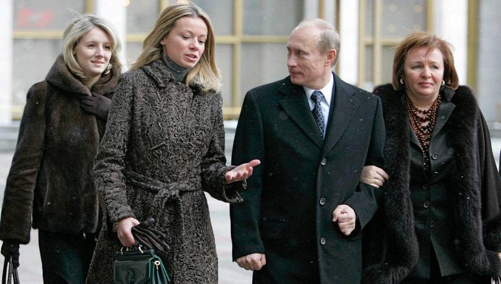 Дети Владимира Путина фото