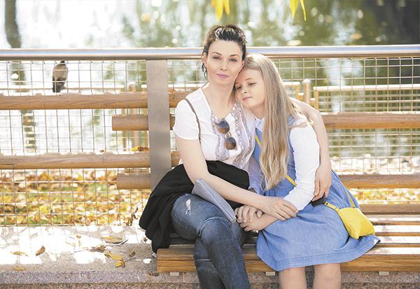 Дочь Александры Урсуляк — Анна Голубева фото