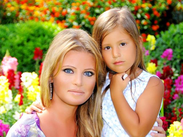 Дочь Даны Борисовой – Полина фото