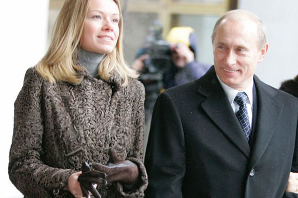 Дочь Владимира Путина – Мария Путина фото