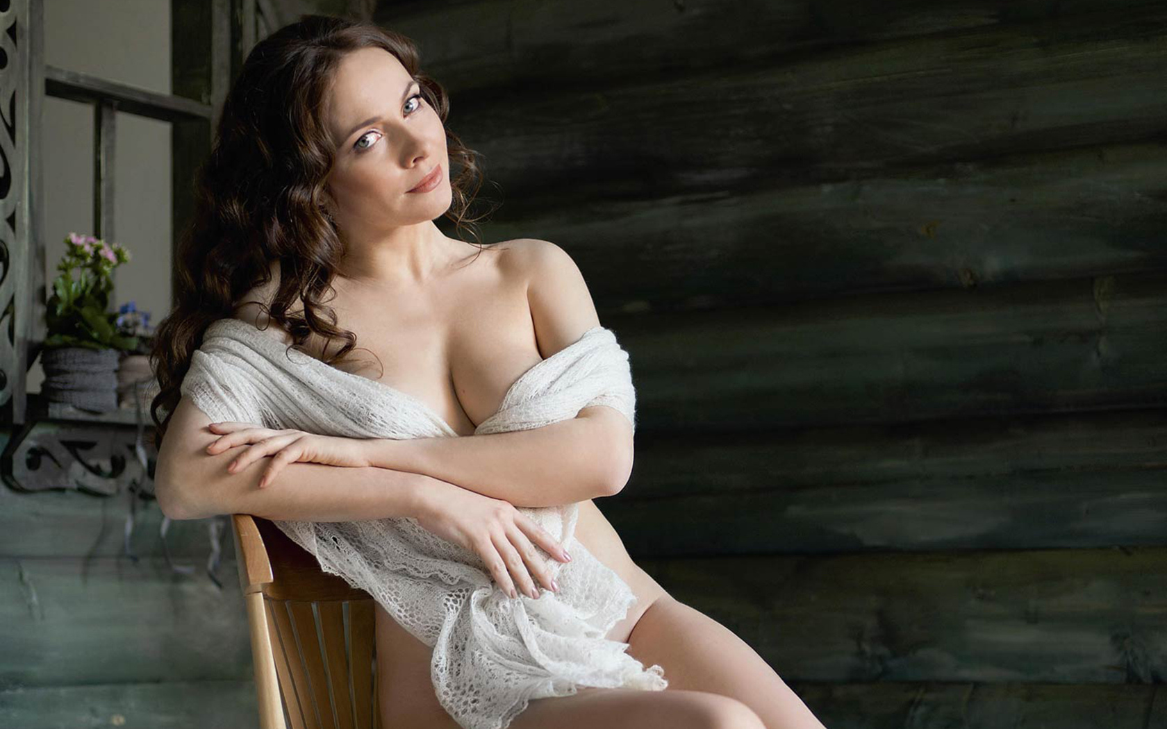 Фото Екатерины Гусевой в журнале Максим