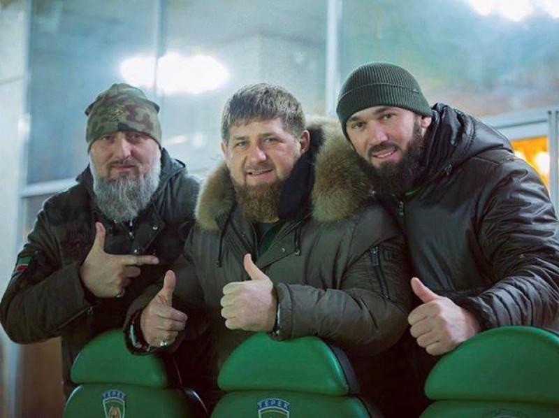 Инстаграм и Википедия Рамзана Кадырова фото