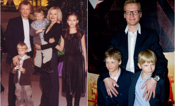 Семья Алексея Серебрякова фото