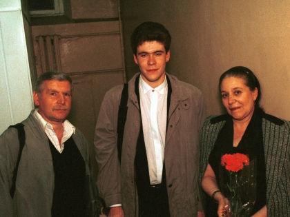 Семья Дениса Мацуева фото