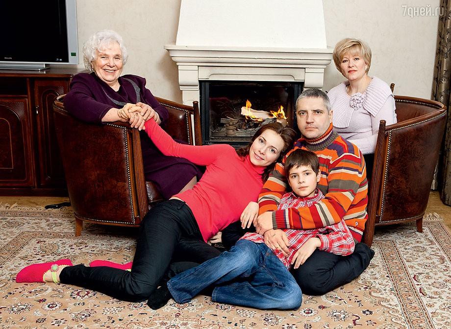 Семья Екатерины Гусевой фото