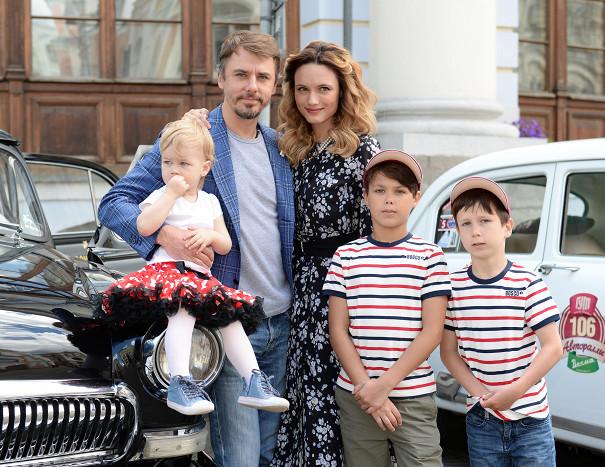Семья Игоря Петренко фото