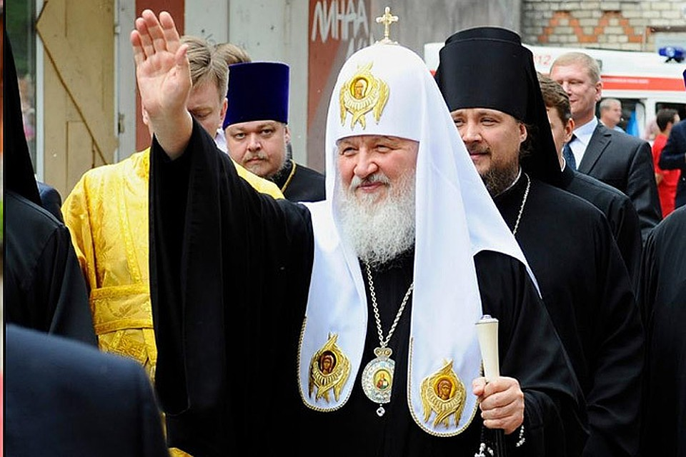 Семья Патриарха Кирилла фото