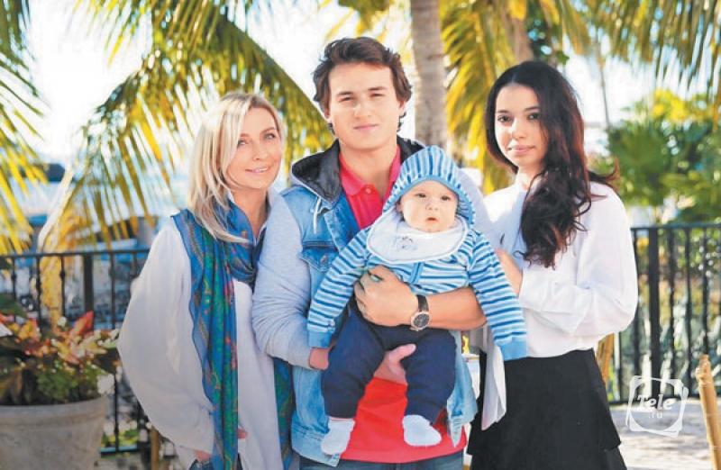Семья Татьяны Овсиенко фото