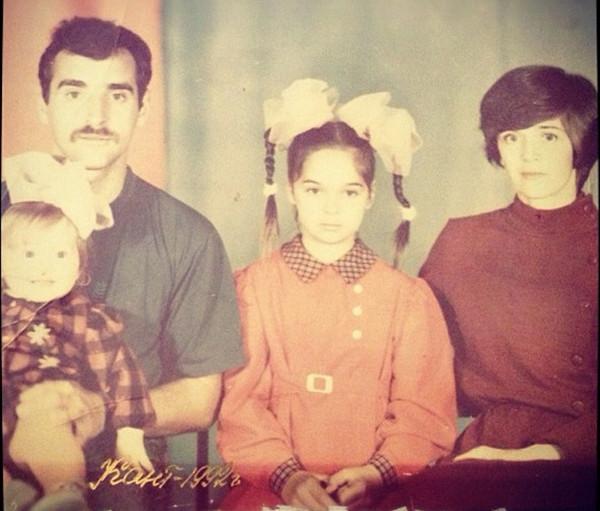 Семья Юлии Ахмедовой фото