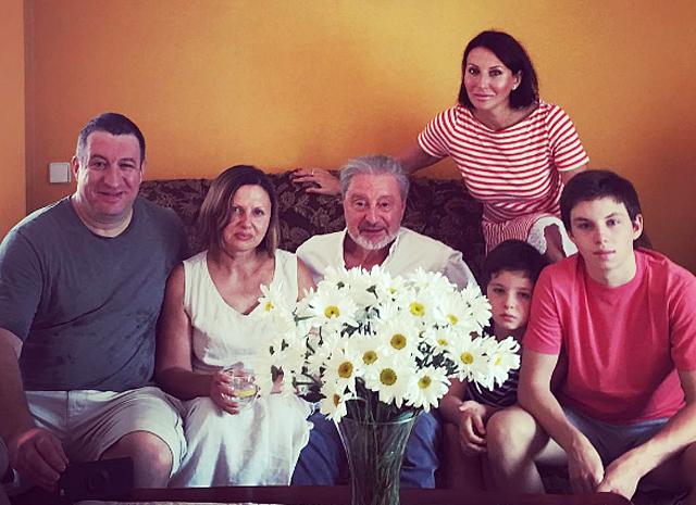 Семья и дети Алики Смеховой фото