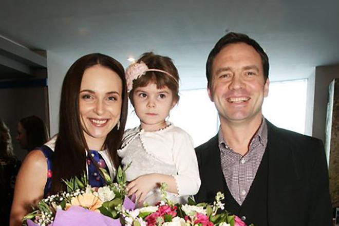 Семья и дети Анны Снаткиной фото