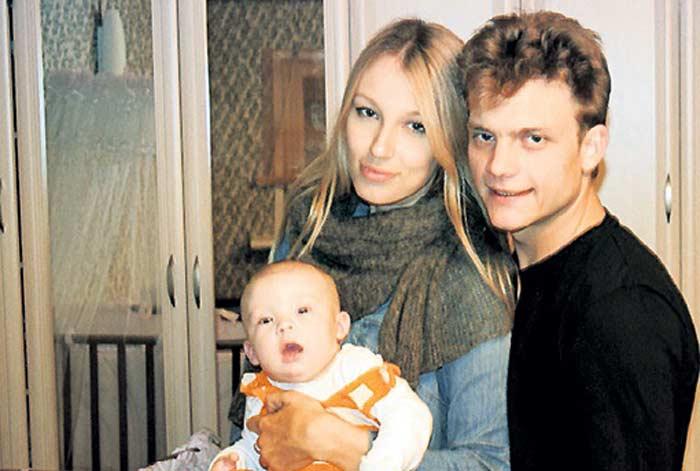 Семья и дети Евгения Ткачука фото
