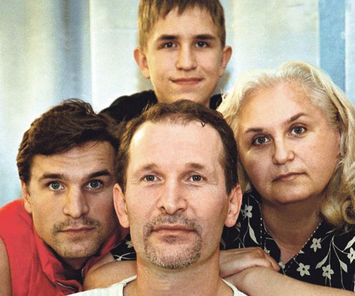 Семья и дети Фёдора Добронравова фото