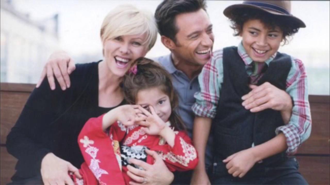 Семья и дети Хью Джекмана фото