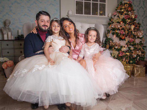 Семья и дети Михаила Галустяна фото