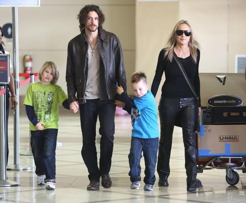 Семья и дети Шэрон Стоун фото