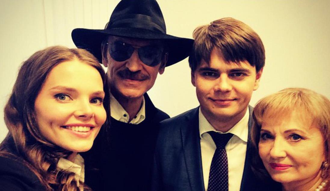 Семья и дети Сергея Боярского фото