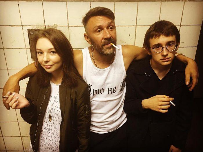Семья и дети Сергея Шнурова фото