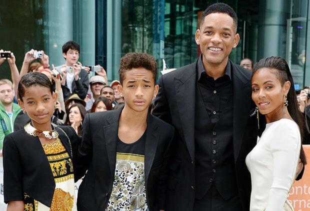 Семья и дети Уилла Смита фото