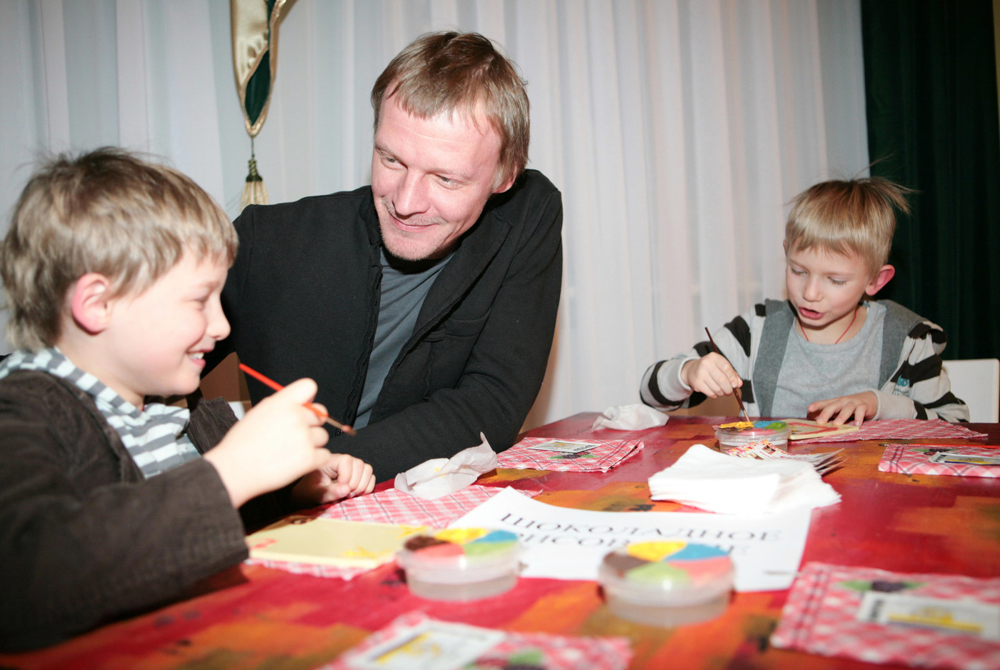 Сын Алексея Серебрякова – Данил фото