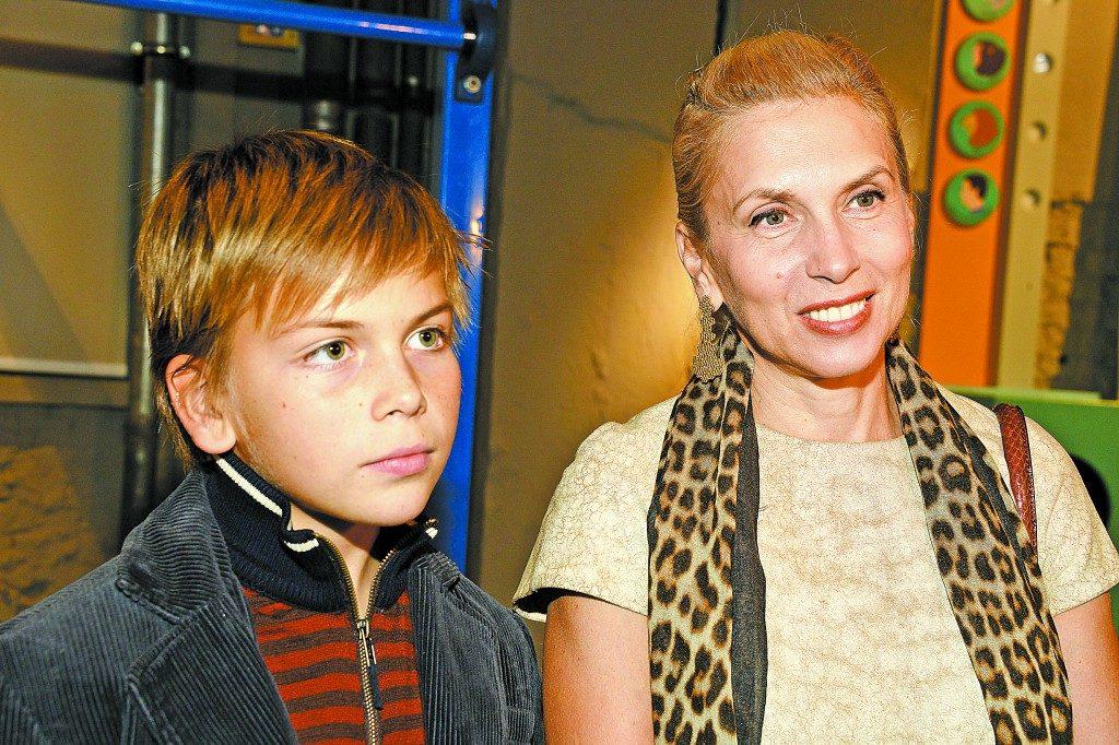 Сын Алёны Свиридовой – Григорий Свиридов фото
