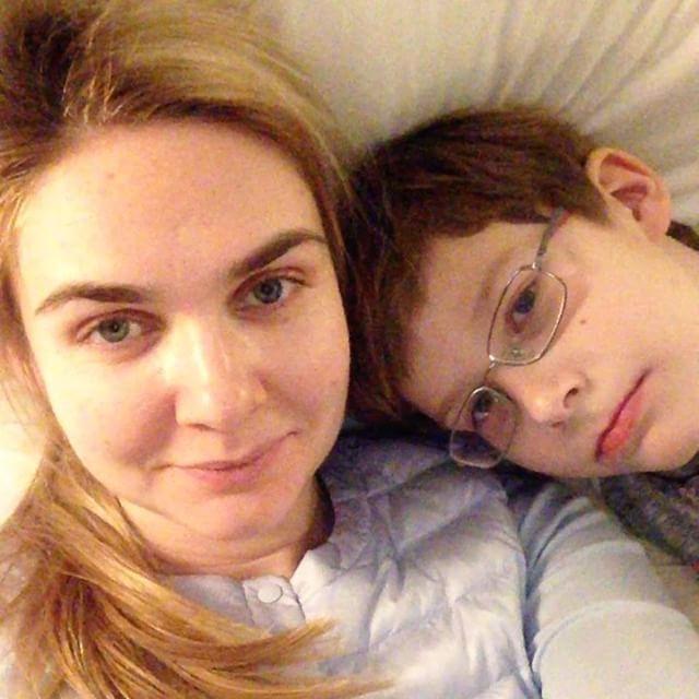 Сын Анны Шафран - Лев фото