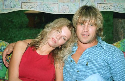 Жена Алексея Глызина – Сания Глызина фото