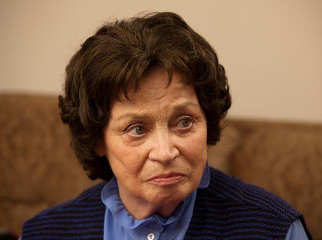 Жена Олега Ефремова – Алла Покровская фото