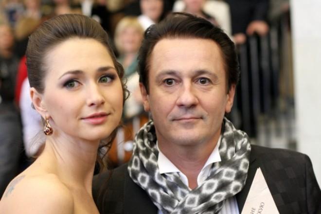 Жена Олега Меньшикова – Анастасия Чернова фото