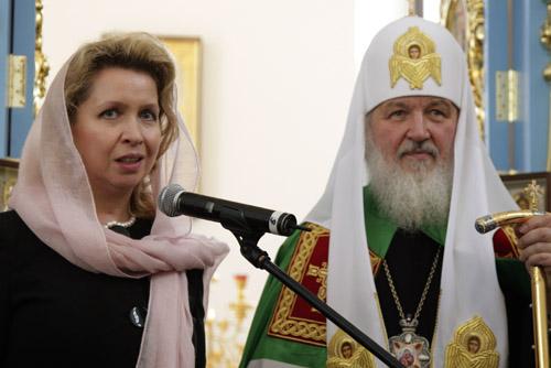 Жена Патриарха Кирилла фото