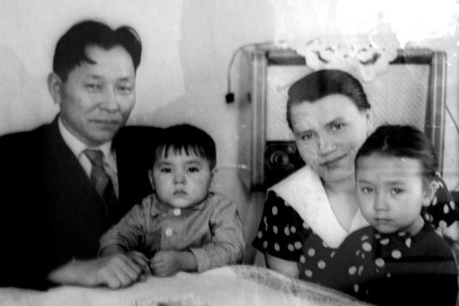 Сергей Шойгу с семьей