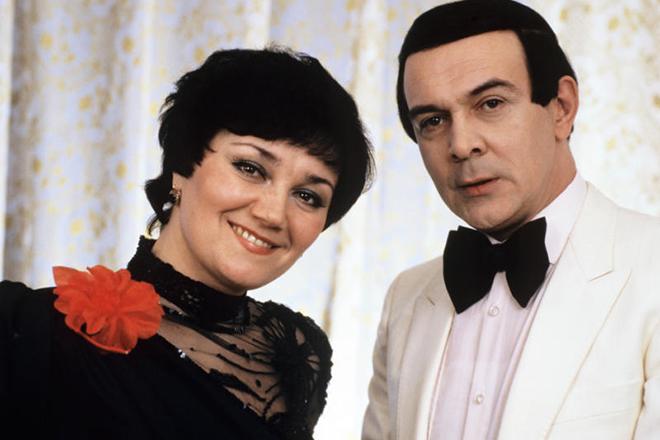 Муслим Магомаев с Тамарой Синявской