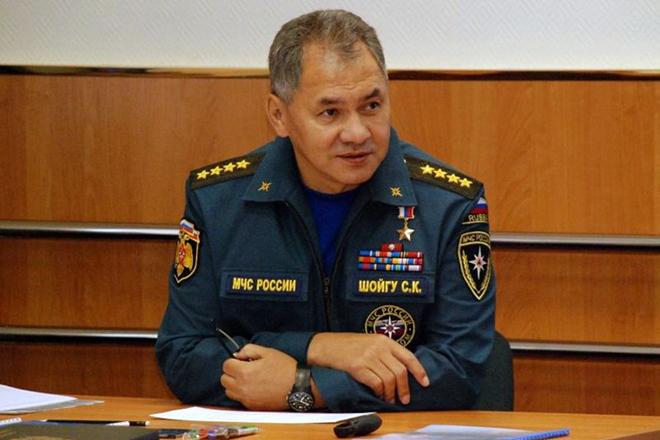 Сергей Шойгу на посту главы МЧС