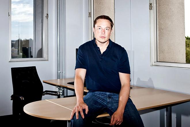 Илон Маск в молодости
