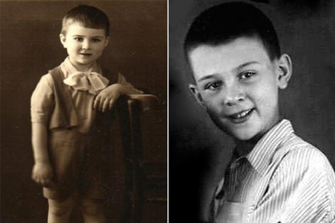 Муслим Магомаев в детстве