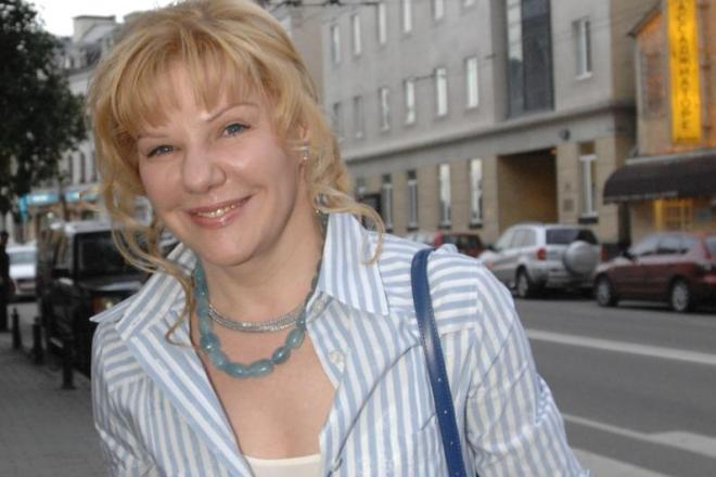 Актриса Александра Захарова
