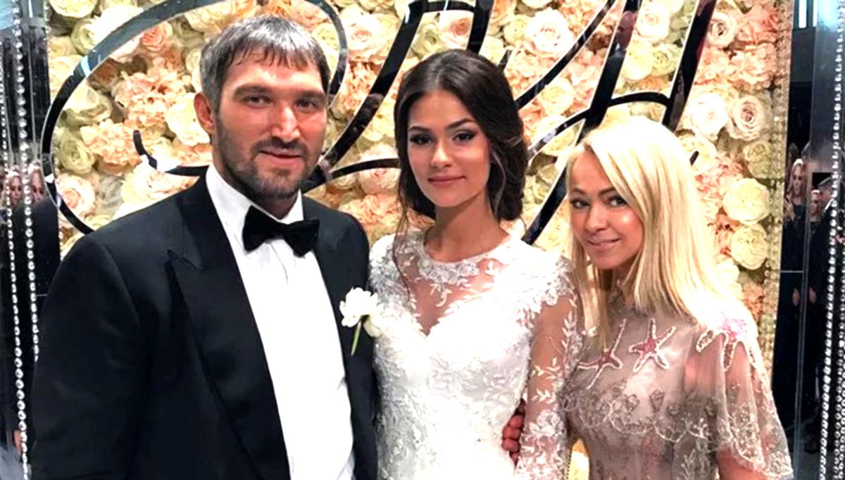 Александр Овечкин и Анастасия Шубская, свадьба, фото