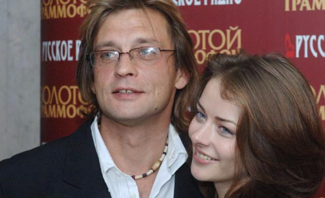 Бывший гражданский муж Марины Александровой (актриса) – Александр Домогаров фото