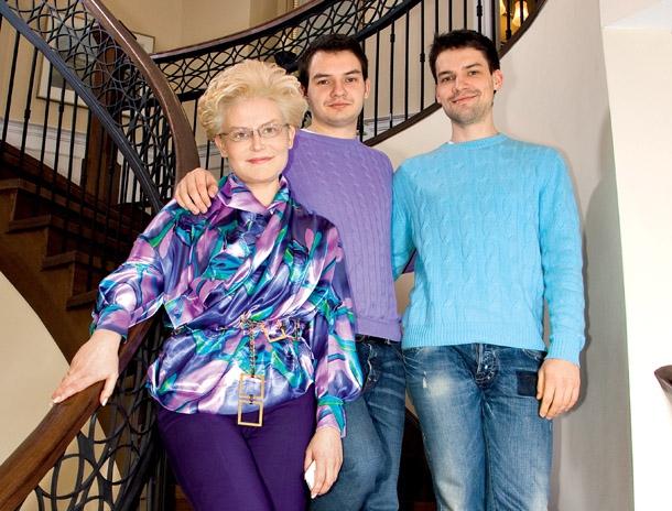 Дети Елены Малышевой фото