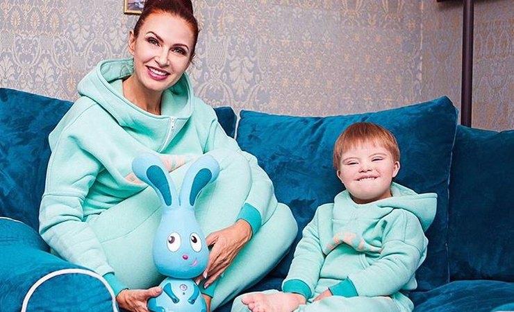 Дети Эвелины Бледанс фото