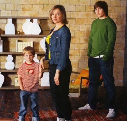Дети Евгении Добровольской фото